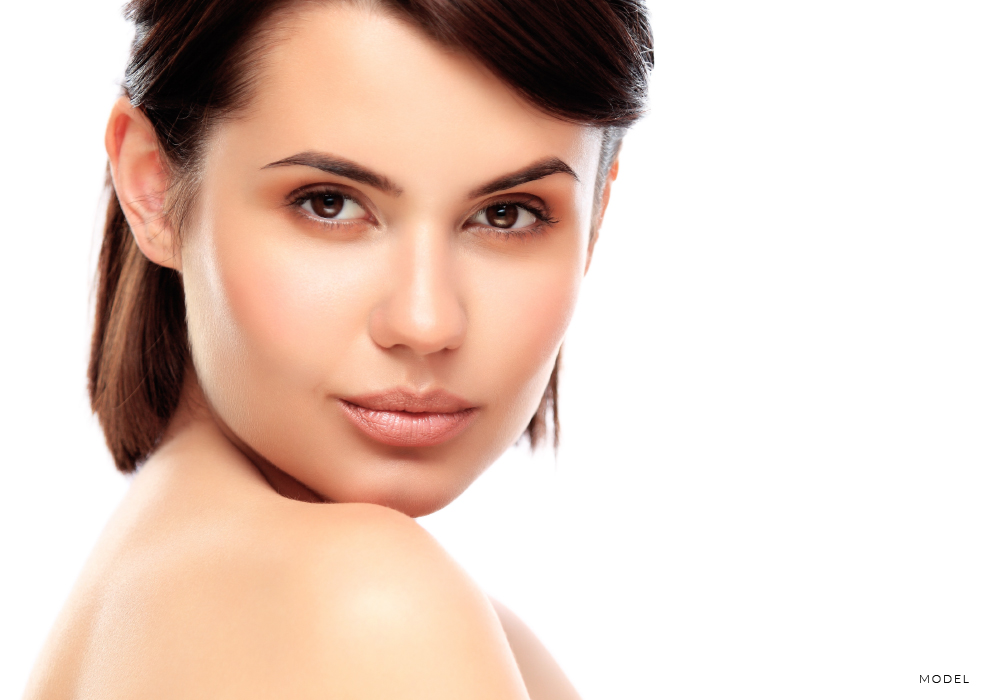 Woman Who Knows the Secrets of Rhinoplasty