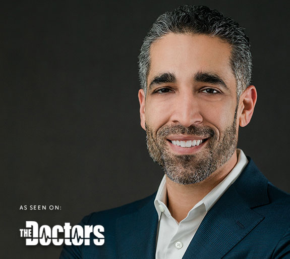 As Seen On The Doctors Mobile Dr. Nima Headshot